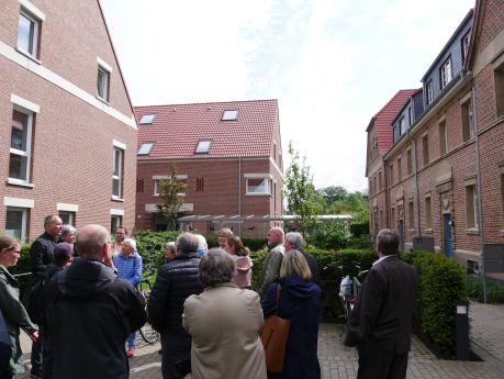 Begehung Wohnviertel Geistraße vom Wohnungsverein Münster von 1893 eG