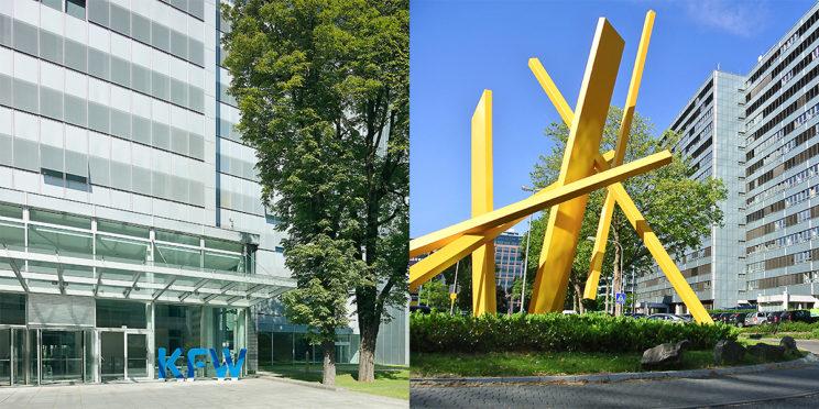 Hauptgebäude von KfW und BAFA